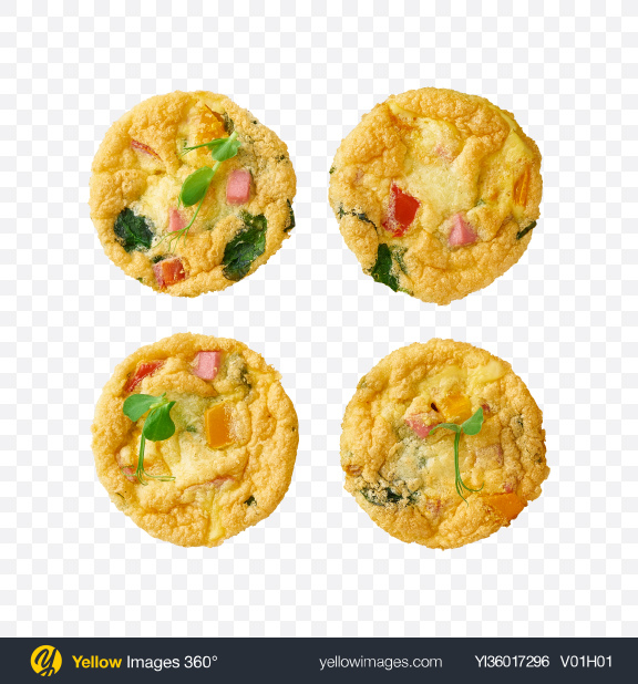 Download Mini Quiches Transparent PNG on YELLOW Images