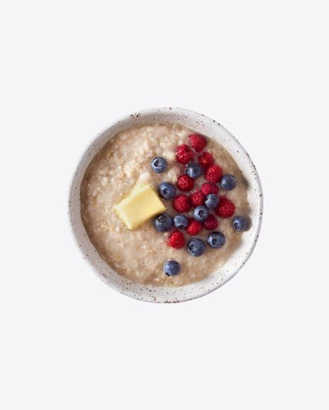 Porridge w/ Berries & Butter