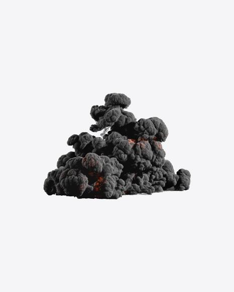 PNG Dense Smoke Explosion