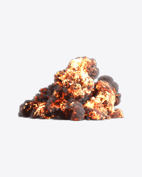 PNG Explosion Cloud