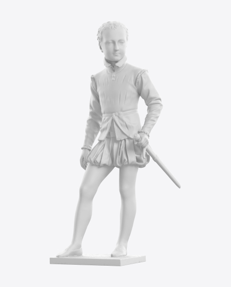 Sculpture of Young King