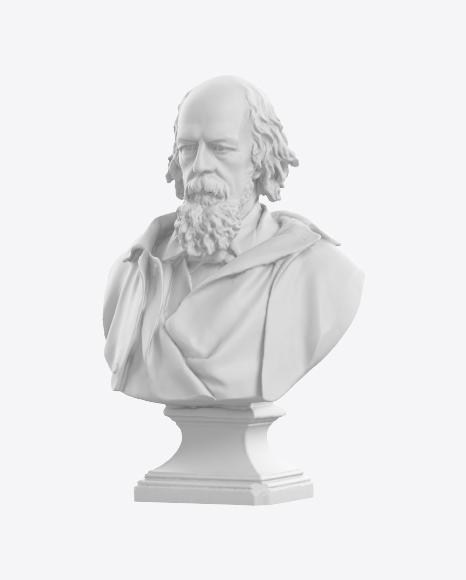 Bust of Tennyson