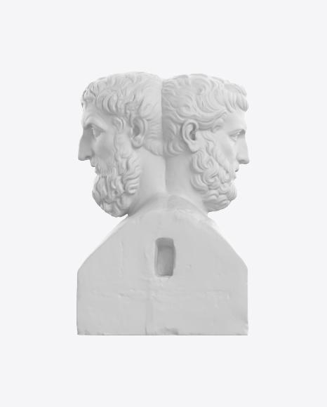 Double Herm of Epicurus and Metrodorus