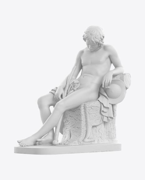 Sleeping Shepherd Boy Sculpture