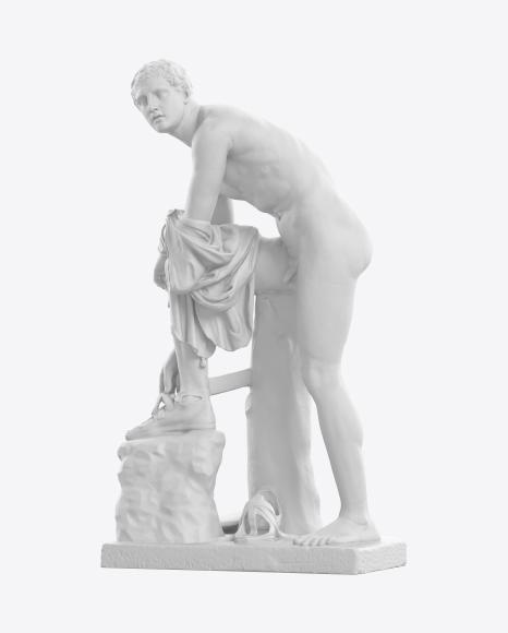 Sculpture of Hermes