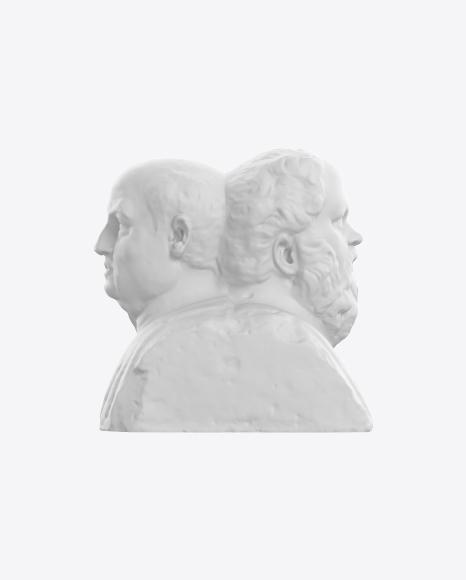 Double Herm of Socrates and Seneca