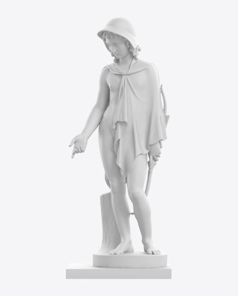 Sculpture of Shepherd