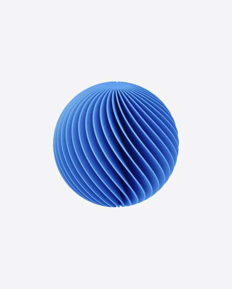 Spiral Sphere Shape