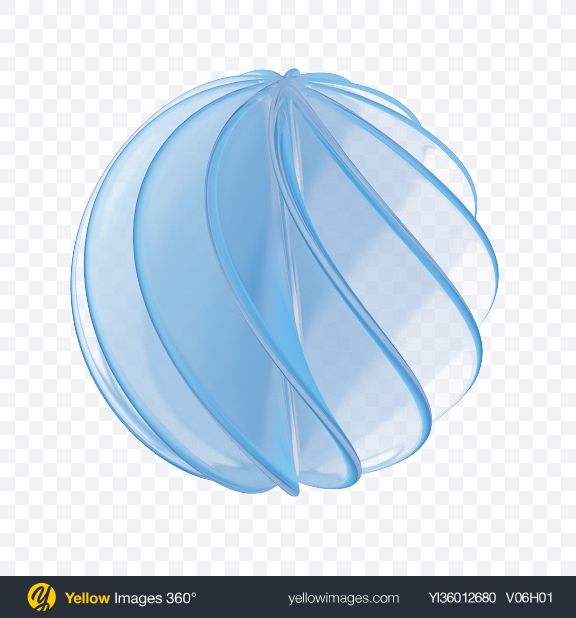 Download Spiral Sphere Shape Transparent PNG on YELLOW Images