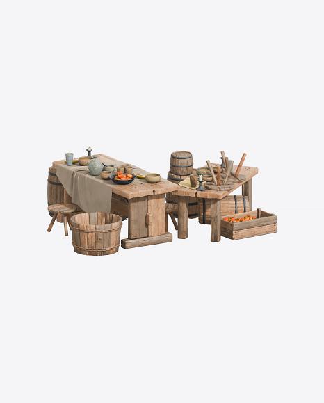 Medieval Tables Set