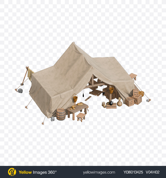 Download Medieval Tent Transparent PNG on YELLOW Images