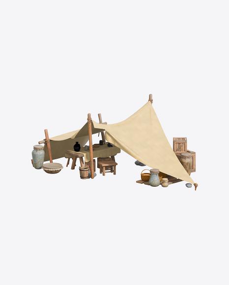 Medieval Market Tent