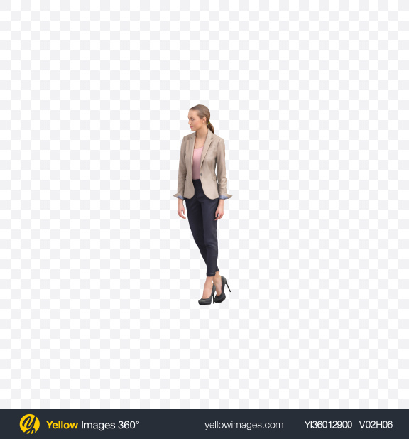 Download Business Woman Transparent PNG on YELLOW Images
