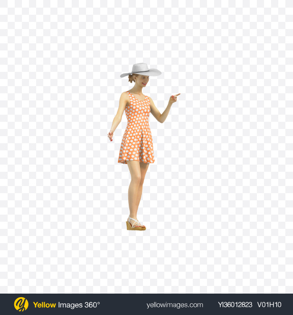 Download Woman Pointing Finger Transparent PNG on YELLOW Images