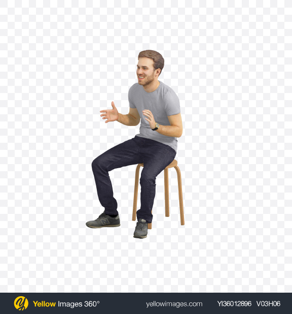 Download Man Sitting Transparent PNG on YELLOW Images