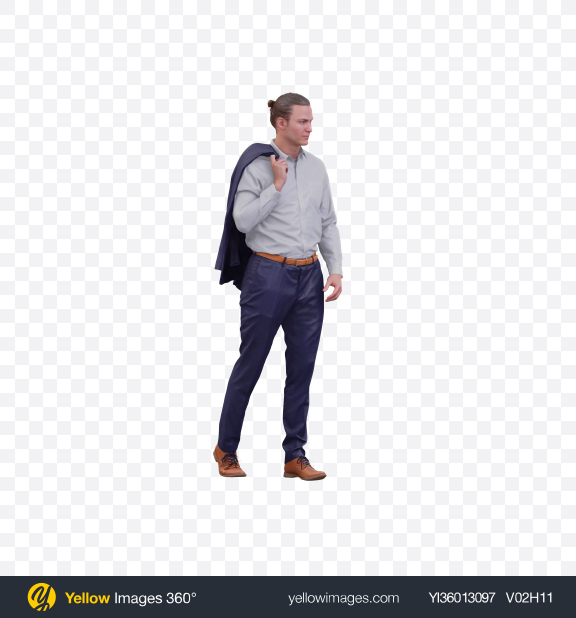 Download Man Walking Transparent PNG on YELLOW Images