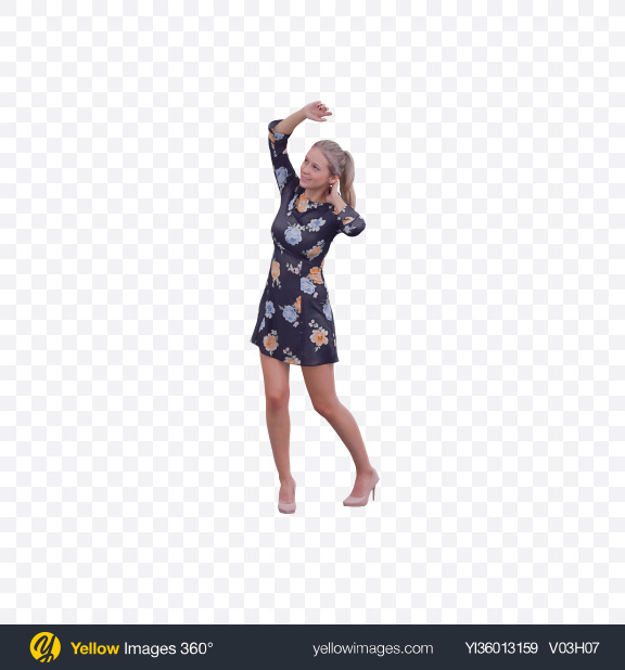 Download Woman Dancing Transparent PNG on YELLOW Images
