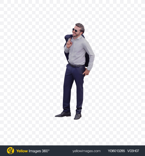 Download Man Standing Transparent PNG on YELLOW Images