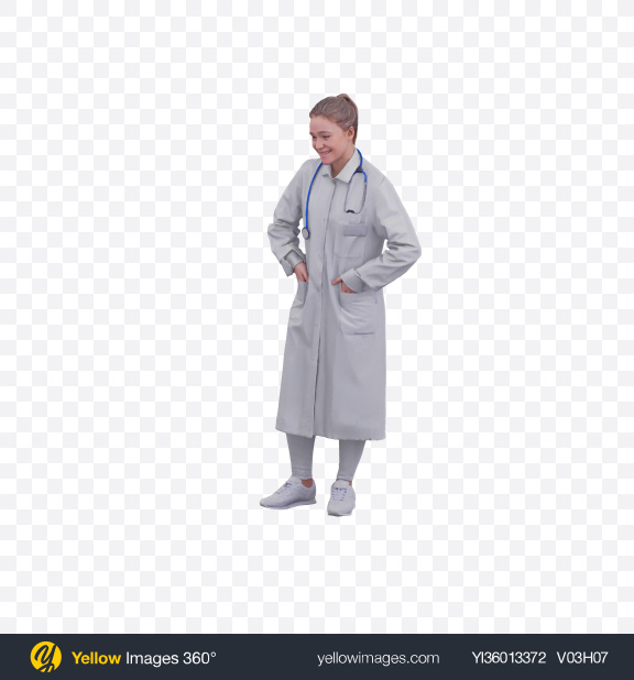 Download Doctor Standing Transparent PNG on YELLOW Images