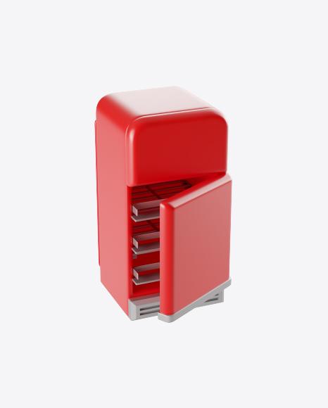 Stylized Refrigerator
