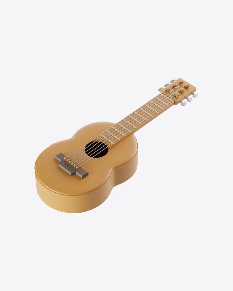Stylized Acoustic Guitar