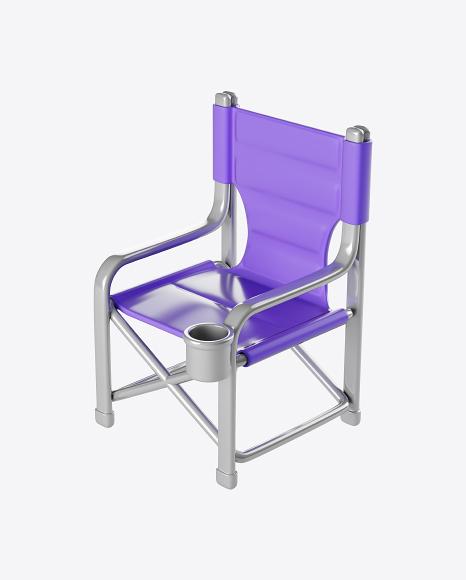 Stylized Folding Chair