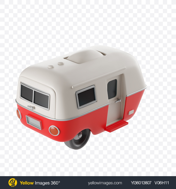Download Stylized Caravan Transparent PNG on YELLOW Images
