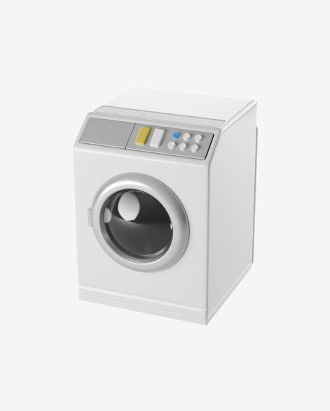 Stylized Washing Machine