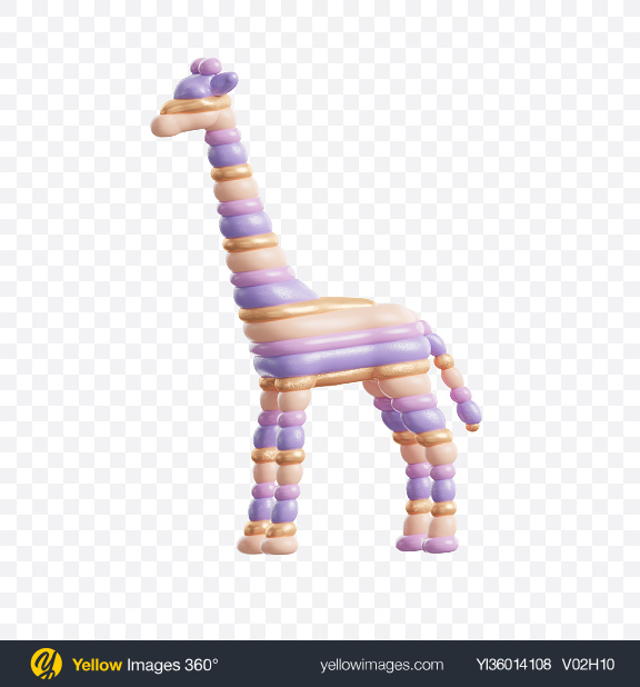 Download Abstract Giraffe Transparent PNG on YELLOW Images