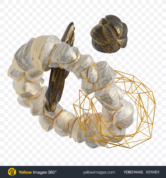 Download Abstract Set with Stones Transparent PNG on YELLOW Images
