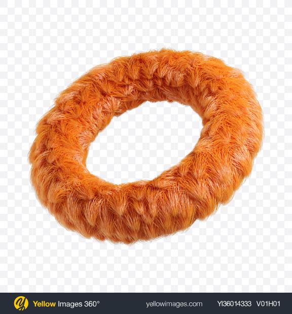 Download Orange Fur Torus Transparent PNG on YELLOW Images