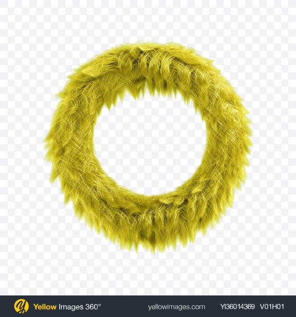 Download Green Fur Torus Transparent PNG on YELLOW Images