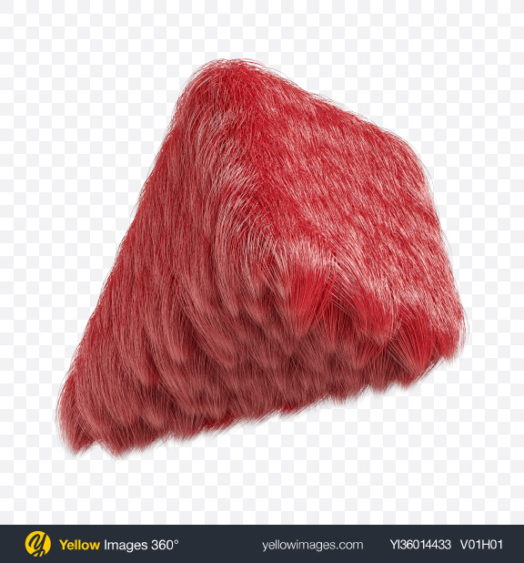 Download Red Fur Pyramid Transparent PNG on YELLOW Images