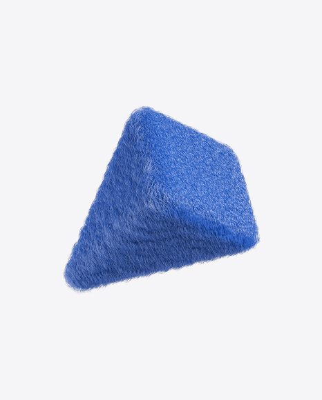 Blue Fur Pyramid