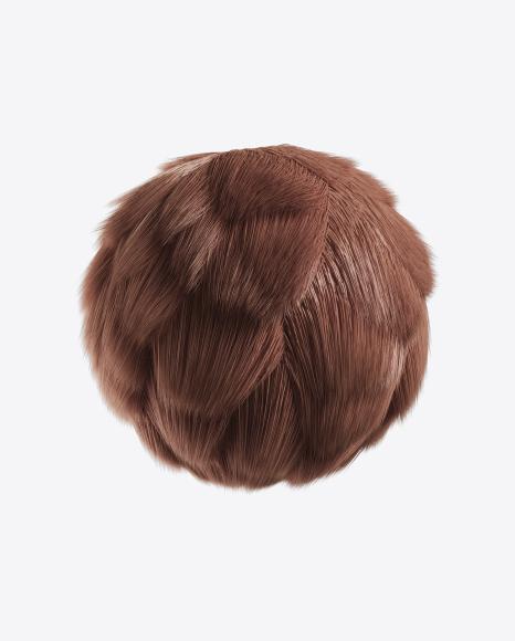 Brown Fur Sphere