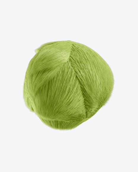 Green Fur Sphere