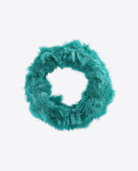Blue Fur Torus
