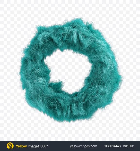 Download Blue Fur Torus Transparent PNG on YELLOW Images
