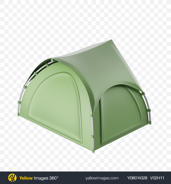 Download Stylized Camping Tent Transparent PNG on YELLOW Images