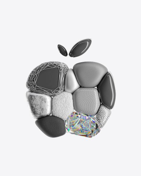 Abstract Apple Shape