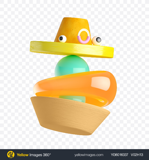 Download Abstract Shapes w/ Emotions Transparent PNG on YELLOW Images