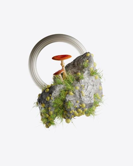 Abstract Rock Set
