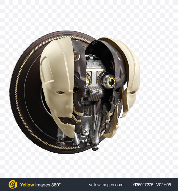 Download Robot Head Transparent PNG on YELLOW Images